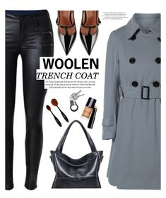 """Trench Coat - TwinkleDeals"" by yexyka ❤ liked on Polyvore featuring RED Valentino and twinkledeals"