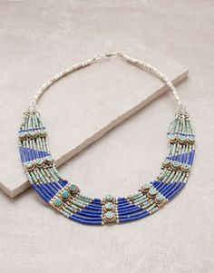 Traditional Nepalese Gemstone Necklace