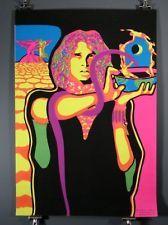 The Doors Jim Morrison Vintage Blacklight Poster 1969