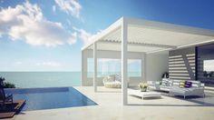#lamellendächer schauen nicht nur neben einem #pool oder #meer super aus