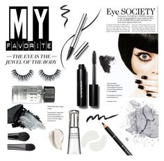 """""""Eye Society"""" by einn-enna ❤ liked on Polyvore featuring beauty, Chantecaille, Bobbi Brown Cosmetics, Gorgeous Cosmetics, Topshop, Givenchy, Shiseido, Lancôme, Kevyn Aucoin and MAKE UP FOR EVER"""