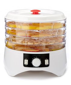 Look what I found on #zulily! Temperature-Adjustable Food Dehydrator & Tray Set by Cooks Club USA #zulilyfinds