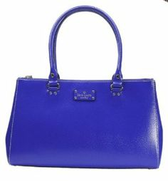 Kate Spade Wellesley Martine Handbag Royal Blue