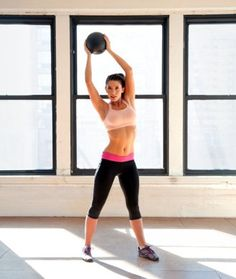 Get a fast and effective total-body workout with these medicine ball exercises.