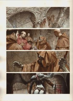 Need to find this graphic novel. Gorgeous work by Riccardo Federici. http://riccardofederici.blogspot.co.uk/