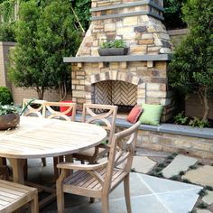 Outdoor Fireplace Design Ideas, Pictures, Remodel and Decor