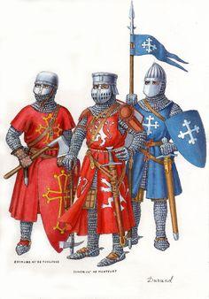 Franse adel uit de tweede helft van de 13e eeuw