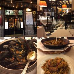 #7portes #Barcelona #food #travel #paella #paellaparellada #richmanspaella #seafood #mussells #musclos #reviewsbycouple