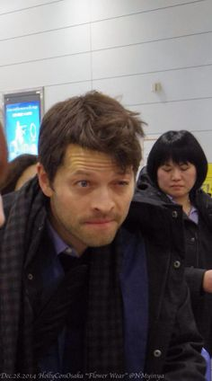 misha collins or a disgruntled kitten we'll never know