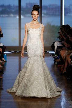 Atractivos vestidos de novia | Colección Ines Di Santo 2014
