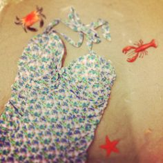 Gorgeous flower print retro bathing suit by Mama Maria @ HIPPO! Royale https://www.facebook.com/HIPPOROYALE