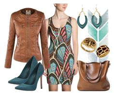 Tribal Print by dogzprinted on Polyvore featuring polyvore fashion style Schutz Alexis Bittar Lucky Brand clothing