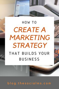 Don't walk into battle without a goal in mind: Here is how to build a marketing strategy that helps you grow your business and reach your goals. // The Social Ms