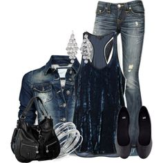 Blue Velvet, created by colierollers on Polyvore