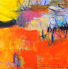 become a traplight 80x80 Anna Hryniewicz2015 acrylic on canvas