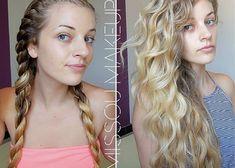 Tu veux donner plus de volume à ta chevelure? Voici des coiffures astucieuses pour boucler ou onduler ses cheveux sans les cramer avec un fer à friser!