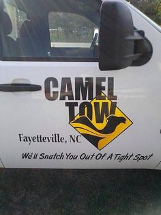 The tow-truck pun.