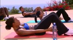 Mel B - 10 minutowy trening brzucha