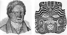 John Sylvester (left) and Te Pehi Kupe (right), portraits of Maori chief Te Pehi Kupe, From The Childhood of Man, by Leo Frobenius (New York: J. William Dalrymple, Mud Hut, Art Through The Ages, Graham Greene, Archaeological Discoveries, Identity Art, Roller Derby, War Paint, Old World
