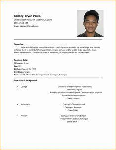 Sample Of Resume For Job Application Job Application Resume Template Resume Job Resume Cv Cover Letter, Sample Of Resume For Job Resume Examples For It Jobs Sample, Sample Of Resume For Job Resume Examples For It Jobs Sample, Basic Resume Format, Resume Format Examples, Resume Format Download, Example Of Resume, Resume Summary, Cv Format, Resume Examples For Jobs, Resume Tips, Resume Cv