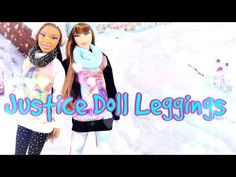 ▶ How to Make Justice Inspired Doll Leggings - YouTube