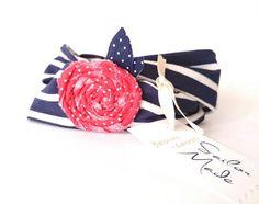 Check out this item in my Etsy shop https://www.etsy.com/listing/539124879/twist-headband-navy-blue-stripe-headband
