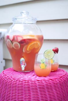 Rosé Sangria Recipe - Annie Reeves