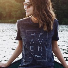 "213 Likes, 9 Comments - Crazy Cool Threads (@crazycoolthreads) on Instagram: ""Our Heaven Bound tee in a vintage charcoal tee. @madisonmust looking fabulous! {Website link in…"""