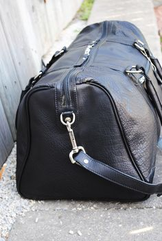 A classic zip-top duffel. Use it for a mini vacation, gym or for just running around town; this bag will certainly be turning heads. One large inside zipper with mini compartments for accessories or toiletries, this is your go to carry machine. Adjustable, removable strap Airline carry-on friendly 100% top grain leather Heavy duty cotton lining
