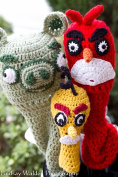 Etsy #Angry #Bird #Crocheted #Golf Club #Covers
