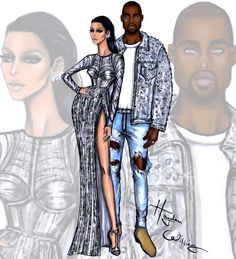 Met Gala 2016 by Hayden Williams Anna Wintour in Chanel CoutureKim Kardashian West & Kanye West in custom BalmainBeyoncé in Givenchy Haute CoutureWillow Smith in Chanel & Jaden Smith in Louis VuittonZayn Malik in custom Versace & Gigi Hadid in Tommy Hilfiger