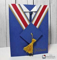 Crafting with Class: Cap & Gown Grad Card & Tute