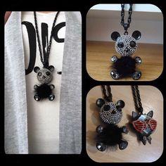 Panda bear panda bear oww sweet panda bear ☺️☺️ panda bear with mini zircons sporty & fancy #fashion #fashionista #trend #jewelry #fashionistfotw #etsy #etsylove #etsyshopping #panda #pandalove #pandas