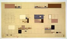 Eames House drawings by Charles and Ray Eames @eamesfoundation