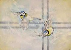 Kunstsamlingen | Artist: Vivi Amelung | Title: Wings of Joy | Height: 50cm,  Width: 70cm | Find it at kunstsamlingen.com #kunstsamlingen #kunst #artcollection #art #painting #maleri #galleri #gallery #onlinegallery #onlinegalleri #kunstner #artist #danishartists #viviamelung
