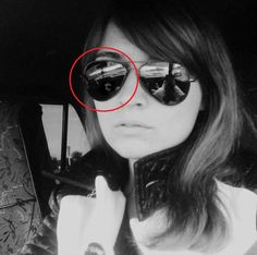 Scary Ghost Face in Sunglasses, Real Ghost Picture Photo,Paranormal Ghost Photo,Real paranormal Ghost Selfie!