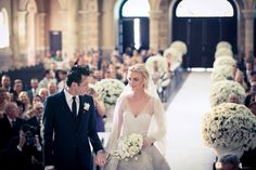 Caroline Trentini : Just Married : The Best Wedding Photos Perfect Wedding, Dream Wedding, Wedding Day, Wedding Ceremony, Elegant Wedding, Lace Wedding, Elegant Gown, Wedding Costs, Wedding White