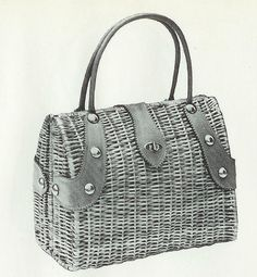 Newspaper Bags, Newspaper Basket, Basket Weaving, Hand Weaving, Sisal, Creative Bag, Cardboard Crafts, Vintage Bags, Wicker Baskets