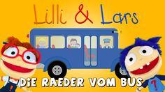 Räder vom bus Kinderlied deutsch - Kinderlieder zum Mitsingen - Singen m...