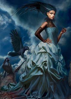 Marta Dahlig красивые картины фэнтези