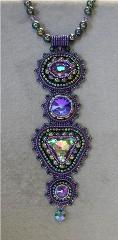 ~~Jamie Cloud Eakin Bead Designs~~another fabulous designer...look for her at bead shows in your area! Her latest book is fabulous!