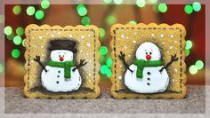 #christmas #cookies #snowman