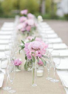 Photographer: Joielala Photography; Wedding reception centerpiece idea;
