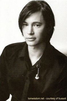 Tom Wisdom (I prefer his short-haired look but this photo is lovely!)
