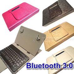 a piel artificial teclado bluetooth funda para asus google nexus 7 wifi 16gb 32gb