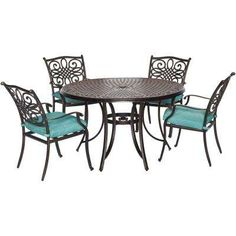 Standish 7Pc Strap Dining Set  Project 62™  Dining Sets Patio Captivating Dining Room Table Protective Covers Inspiration