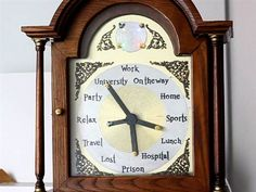 Real-life Harry Potter location-clock that works via mobile app!