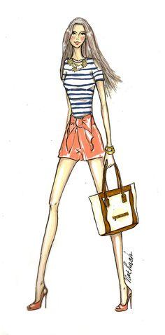 fashion sketch fashion illustrations girl