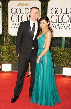 Channing Tatum and Jenna Dewan-Tatum are one handsome couple