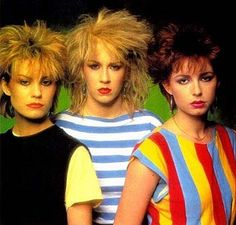 5. Best hairstyle.I was a little young for these hairdos! They are hilarious!  #KickinItAppleCheeks